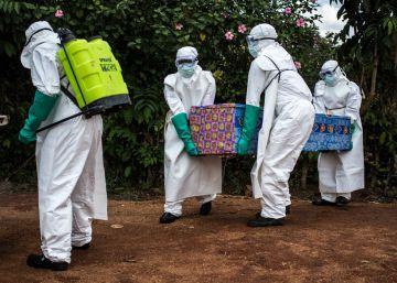 El ébola llega a una gran ciudad de Congo
