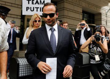 El exasesor de Trump George Papadopoulos, condenado por mentir al FBI