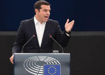 Tsipras culpa a Bruselas del ascenso de la extrema derecha