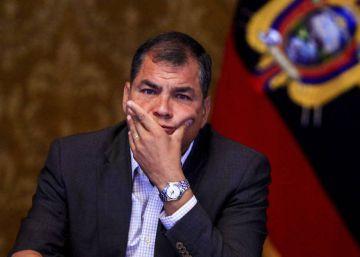 Rafael Correa, investigado en Ecuador por delincuencia organizada en el ?caso Odebrecht?