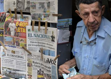 La crisis y el control de Estado arrasa con los periódicos en Venezuela