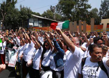 México rememora un año del terremoto del 19-S