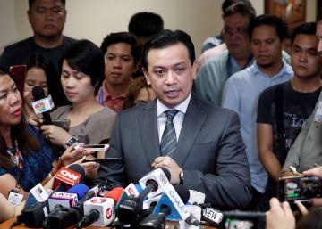 Las autoridades filipinas arrestan a un feroz opositor de la guerra contra las drogas de Duterte