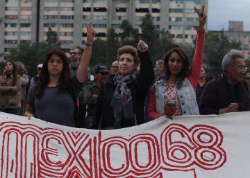 México rememora la matanza estudiantil de 1968