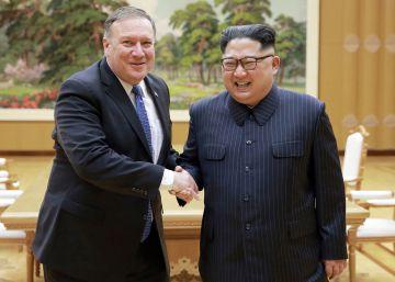 Pompeo y Kim acuerdan una segunda cumbre con Trump ?lo antes posible?