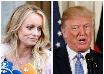 El juez rechaza parte de la demanda de Stormy Daniels contra Donald Trump