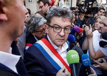 La policía registra la sede de Francia Insumisa y la casa de su líder