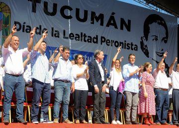 El peronismo celebra el Día de la Lealtad con cinco mítines simultáneos