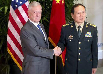 China y EE UU tratan de normalizar sus relaciones militares