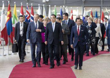 La UE se vuelca con Asia pero con cuidado de no soliviantar a Trump