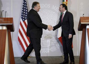 Pompeo presiona a México para evitar que la caravana migrante llegue a EE UU