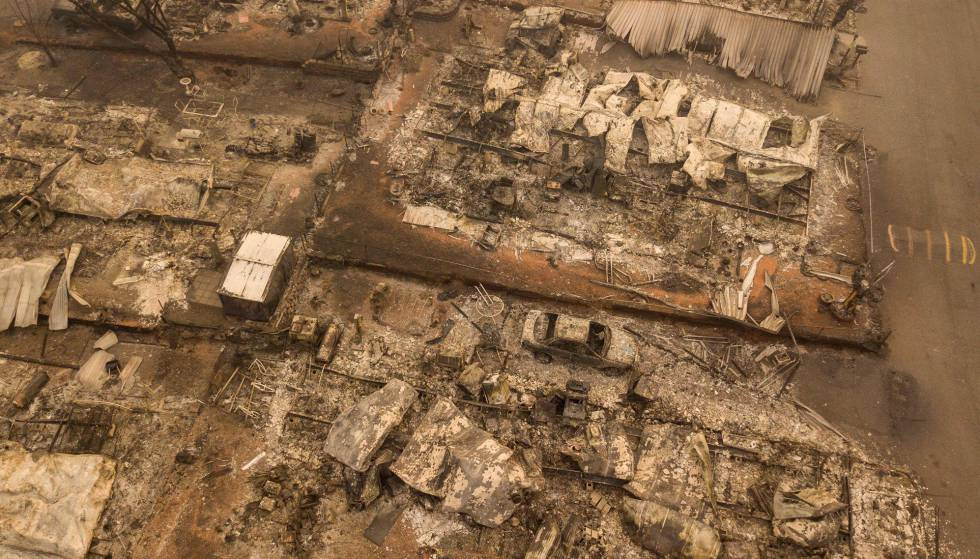 La cifra de muertos en el incendio de Paradise sube a 71 y se dispara la de desaparecidos a más de 1.000