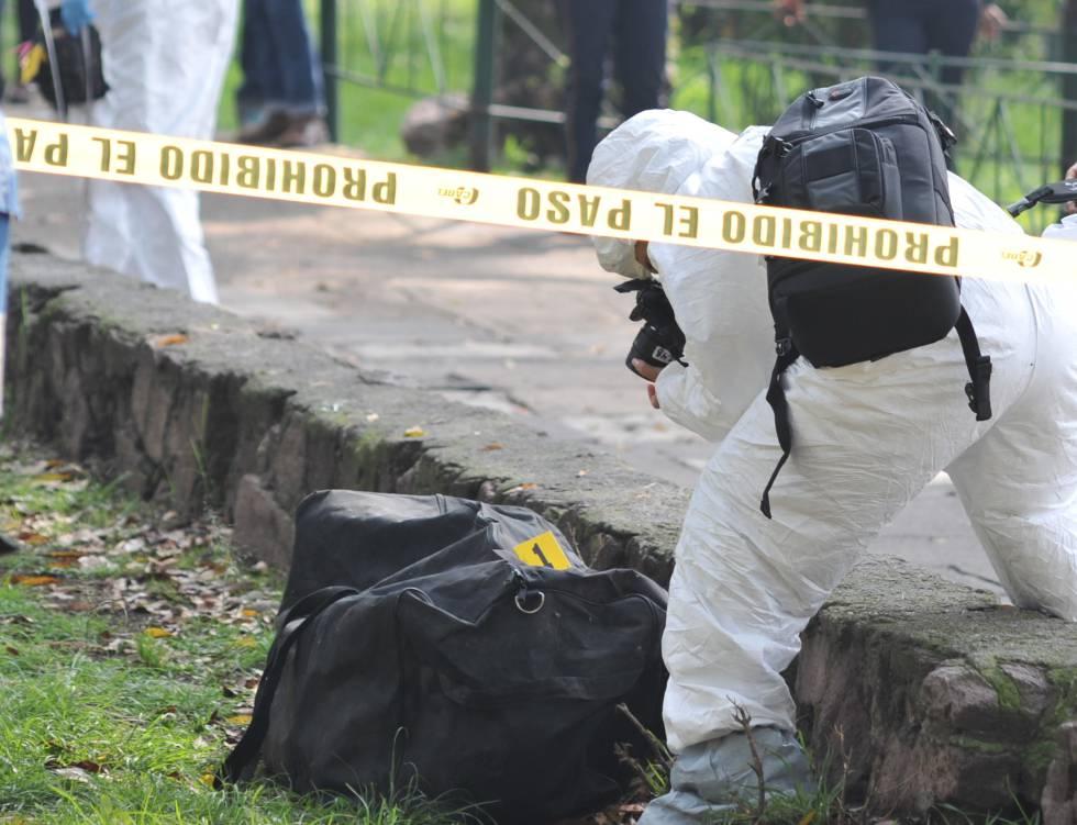 Un cadáver en una maleta y el silencio en plena capital de México