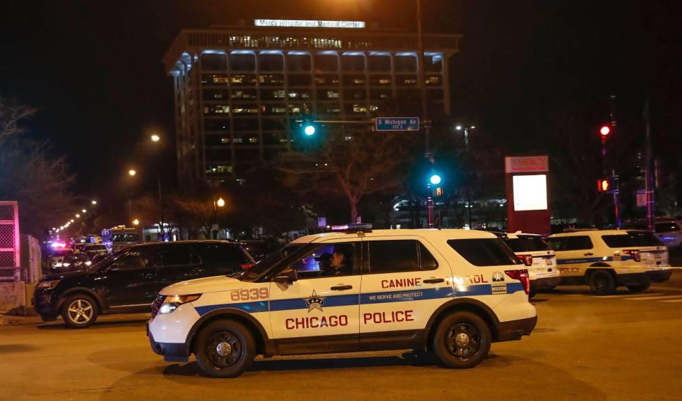 Un pistolero mata a tres personas en un hospital de Chicago