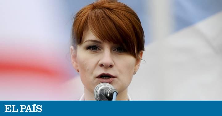La supuesta agente rusa Maria Butina prepara su declaración de culpabilidad | NOSOTROS