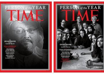 """La revista 'Time' nombra """"personas del año"""" a Jamal Khashoggi y a otros periodistas perseguidos"""