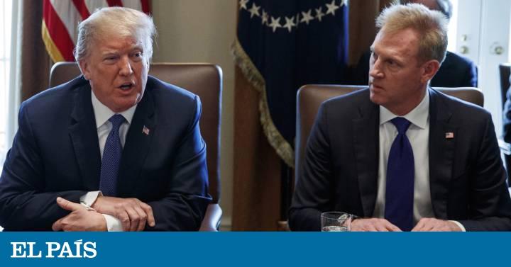 Trump adelanta la marcha de Mattis y nombra un jefe interno del Pentágono