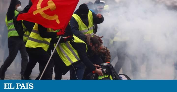 Los 'chalecos amarillos' recuperan su fuerza con protestas más numerosas