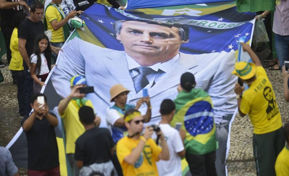 La expectativa de una mejora económica impulsa a Bolsonaro