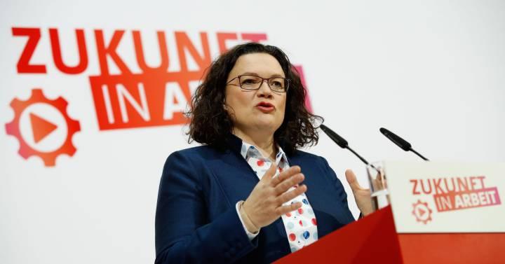 La socialdemocracia alemana busca un nuevo impulso en la izquierda para frenar la caída