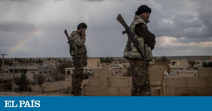 Tras el rastro del botín del ISIS en el desierto sirio
