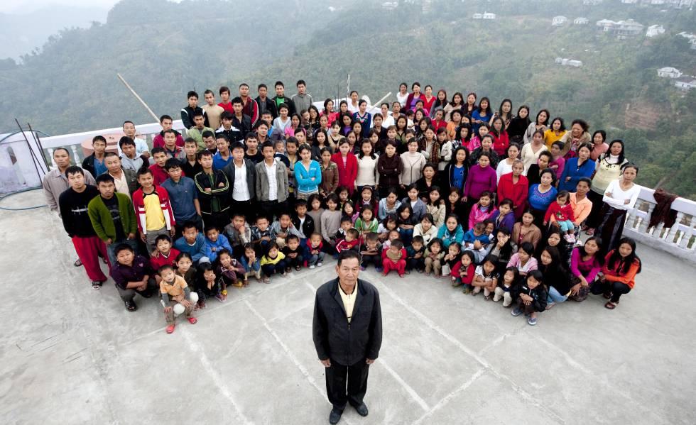 La familia más grande del mundo: 180 miembros viviendo bajo el mismo techo en India