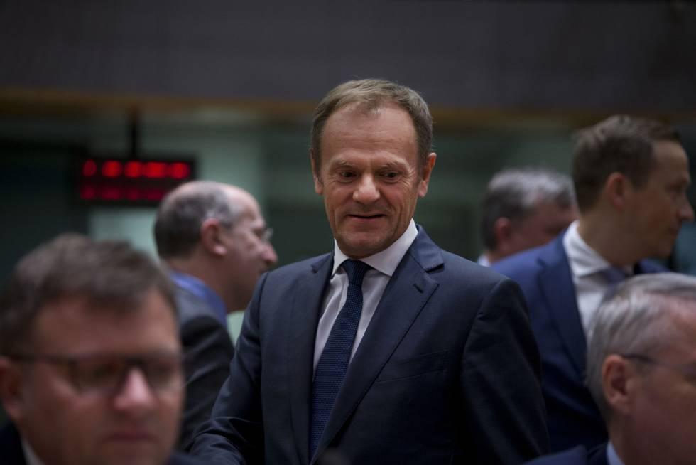 Tusk condiciona la prórroga del Brexit a que el Parlamento británico apruebe el plan para salir de la UE