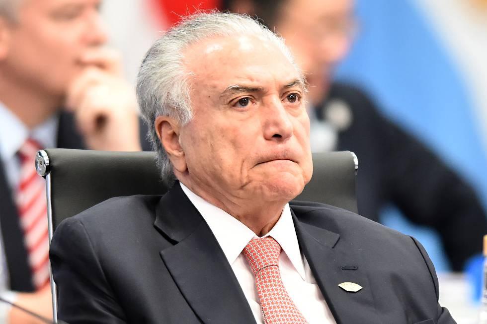 Detenido el expresidente de Brasil Temer en una operación vinculada al escándalo de corrupción Lava Jato