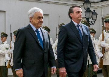 Bolsonaro consuma su alianza con Piñera en su primera gira internacional