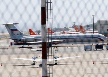 Dos aviones rusos llegan a Venezuela con un centenar de militares