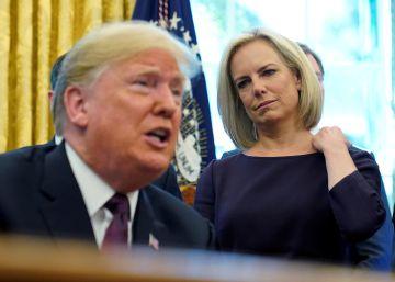 La secretaria de Seguridad Interior de Trump dimite en plena escalada de la crisis migratoria