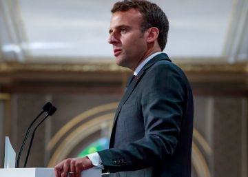 Macron presenta su receta contra el malestar social