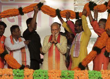 Modi se juega la reelección en India entre crecientes señales de descontento