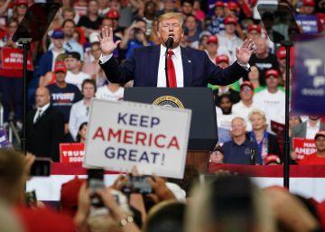 Trump pide a los votantes que se rebelen en contra de la ?izquierda radical?en las elecciones de 2020