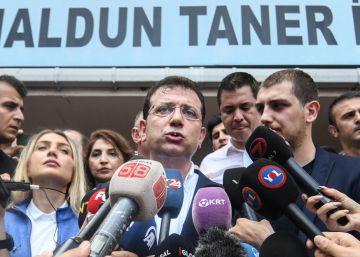 El opositor Imamoglu confía en repetir la victoria en las elecciones a la alcaldía de Estambul