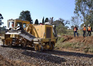Las papeleras dan nueva vida al tren en Uruguay