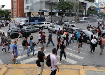 El colapso del sistema eléctrico venezolano sume de nuevo a gran parte del país en la oscuridad