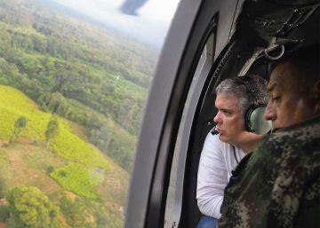 El Gobierno de Trump certifica a Colombia en la lucha antidrogas