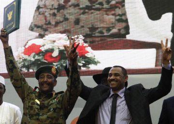 Militares y oposición firman en Sudán el acuerdo final para la transición democrática