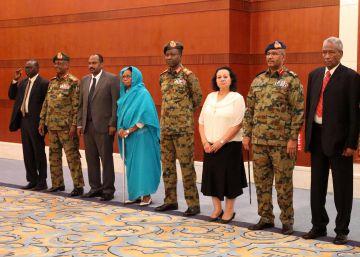 Militares y civiles ya comparten el poder en Sudán