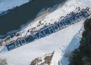 El extremo sur de Argentina se alza contra las salmoneras