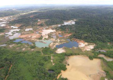 La fiebre del oro arrasa la Amazonia venezolana