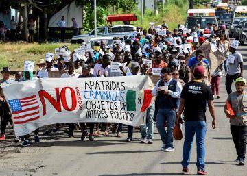 La inmigración irregular hacia EE UU cae un 56% desde la amenaza arancelaria de Trump a México
