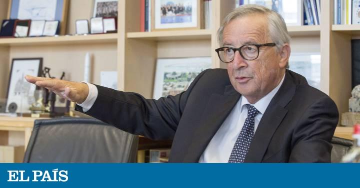 """Juncker: """"España tiene que recuperar la estabilidad política"""""""