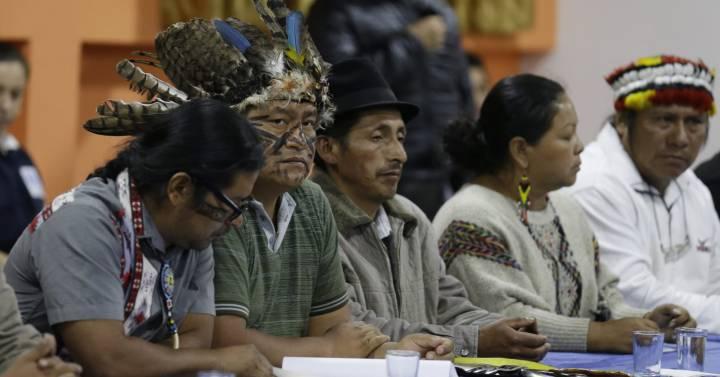 Lenín Moreno deroga los ajustes económicos y los indígenas levantan las protestas en Ecuador