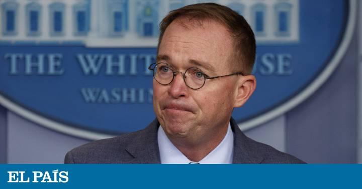 La Casa Blanca admite que hizo depender la ayuda a Ucrania de que investigara a los rivales de Trump