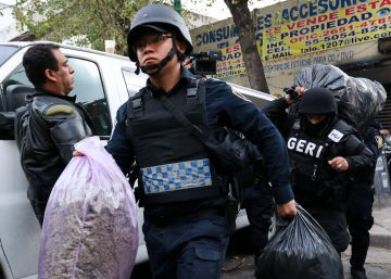 Ciudad de México golpea al crimen organizado con la detención de 31 presuntos narcotraficantes