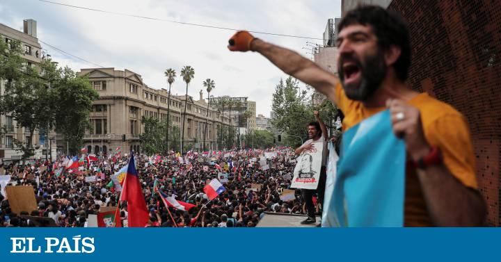 Más de un millón de personas protestan en Chile en una histórica marcha