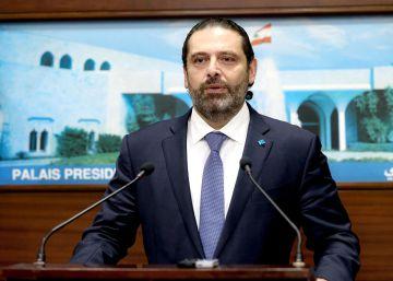 El primer ministro libanés, Saad Hariri, anuncia su dimisión tras dos semanas de protestas