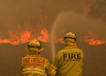 Los incendios forestales arrasan más de mil kilómetros en el este de Australia